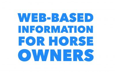 WEB-BASED INFORMATION FOR HORSE OWNERS